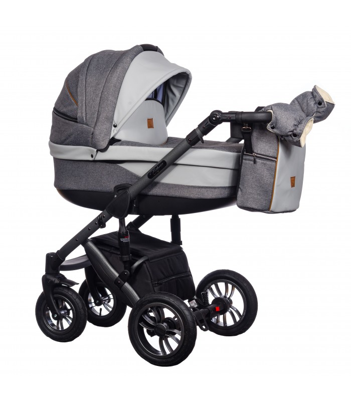 Paradise Baby Euforia Comfort Line 100 Eco-leather 2in1 / 3in1 / 4in1 Travel System
