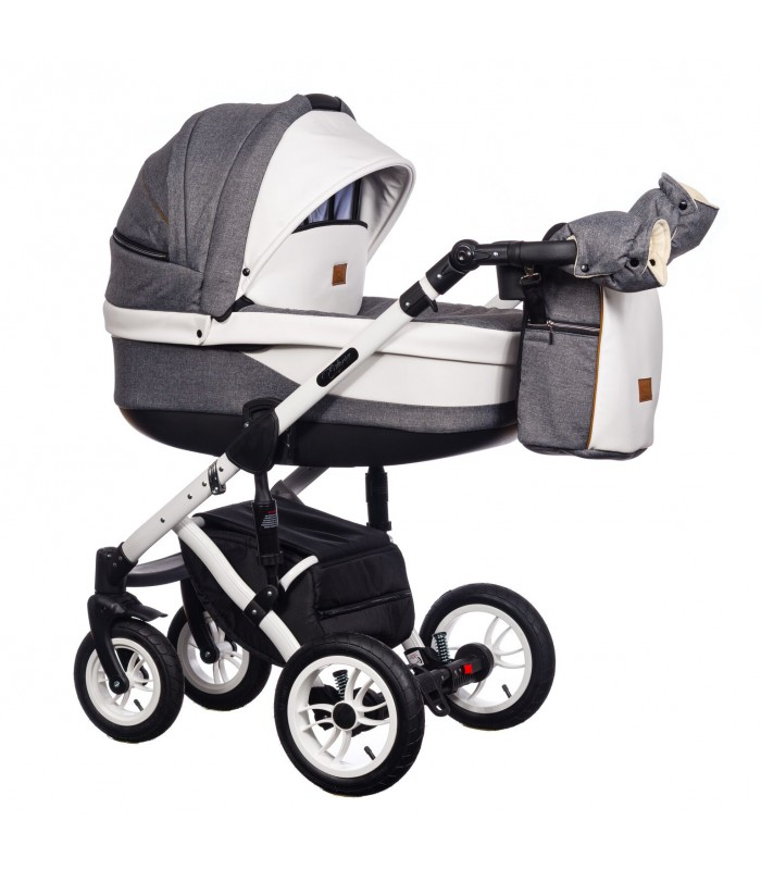 Paradise Baby Euforia Comfort Line 101 Eco-leather 2in1 / 3in1 / 4in1 Travel System