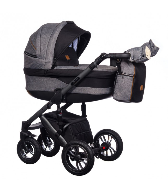 Paradise Baby Euforia Comfort Line 102 Eco-leather 2in1 / 3in1 / 4in1 Travel System