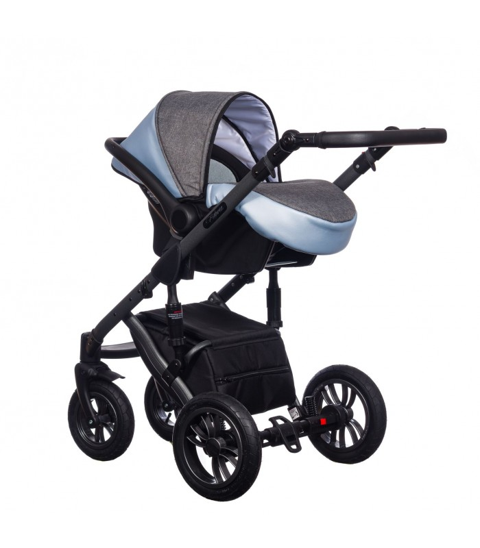 Paradise Baby Euforia Comfort Line 103 Eco-leather 2in1 / 3in1 / 4in1 Travel System