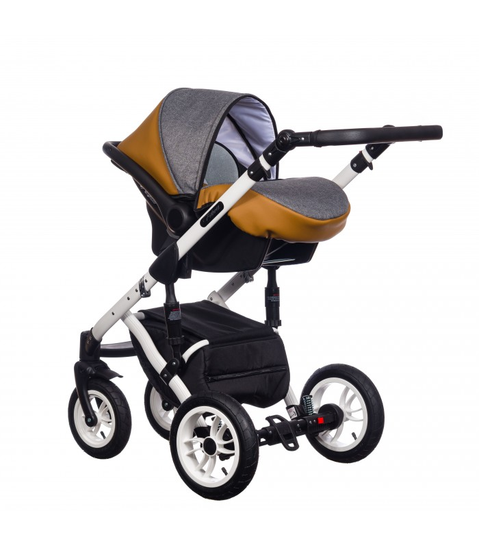 Paradise Baby Euforia Comfort Line 104 Eco-leather 2in1 / 3in1 / 4in1 Travel System
