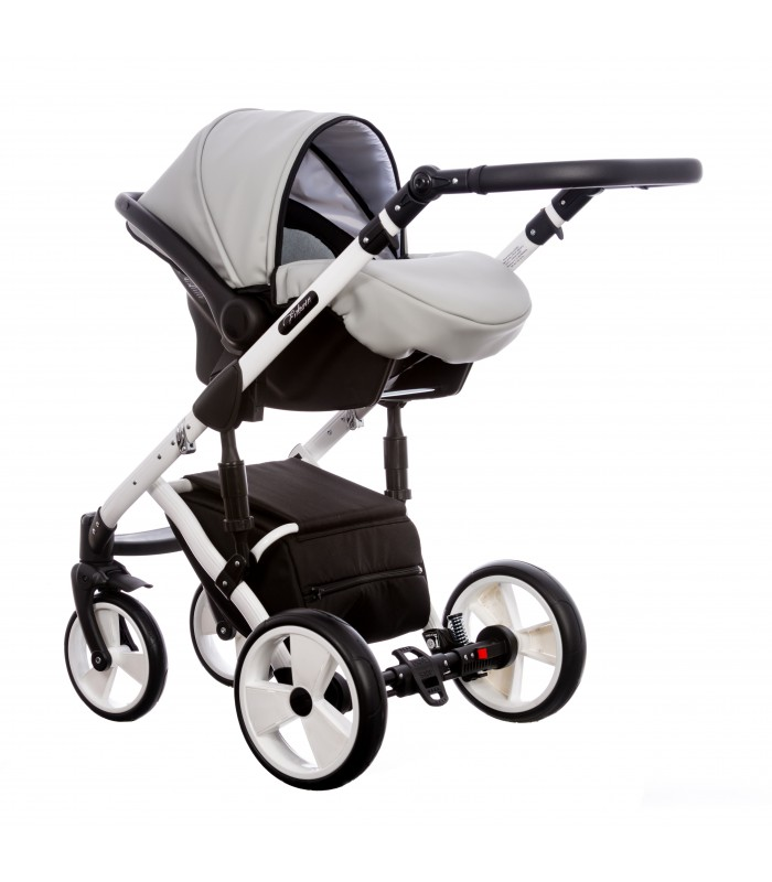 Paradise Baby Euforia FG-1 Eco-leather 2in1 / 3in1 / 4in1 Travel System