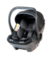 BabySafe York Black-Grey Car Seat with or without ISOFIX Base (i-Size) (0-15 months, 0-13 kg)