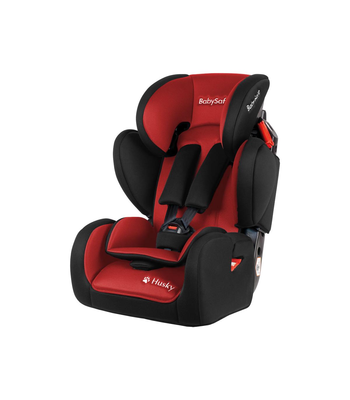 BabySafe Husky SIP Red Car Seat (9