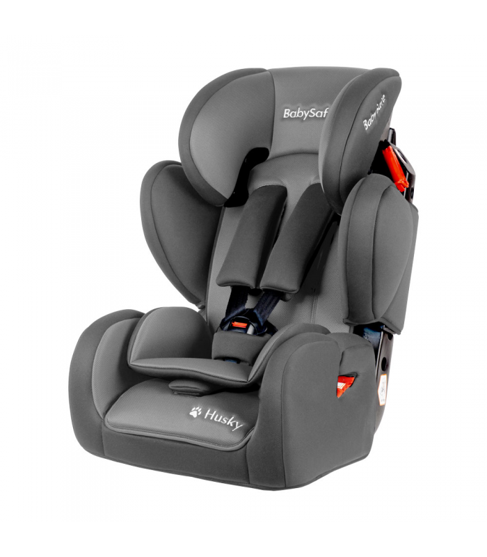 BabySafe Husky SIP Grey Car Seat (9 months to 12 years, 9-36 kg)