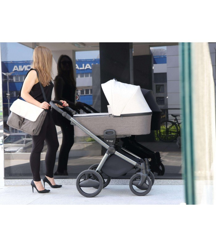Invictus V-PLUS Light Grey 01 Travel System 2in1 / 3in1 / 4in1