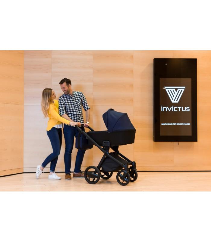 Invictus V-PLUS Carbon Edition Melange 02 Travel System 2in1 / 3in1 / 4in1