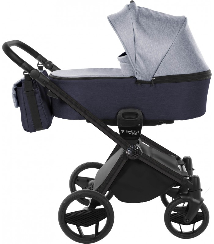 Invictus V-PLUS Carbon Edition Navy Blue 04 Travel System 2in1 / 3in1 / 4in1