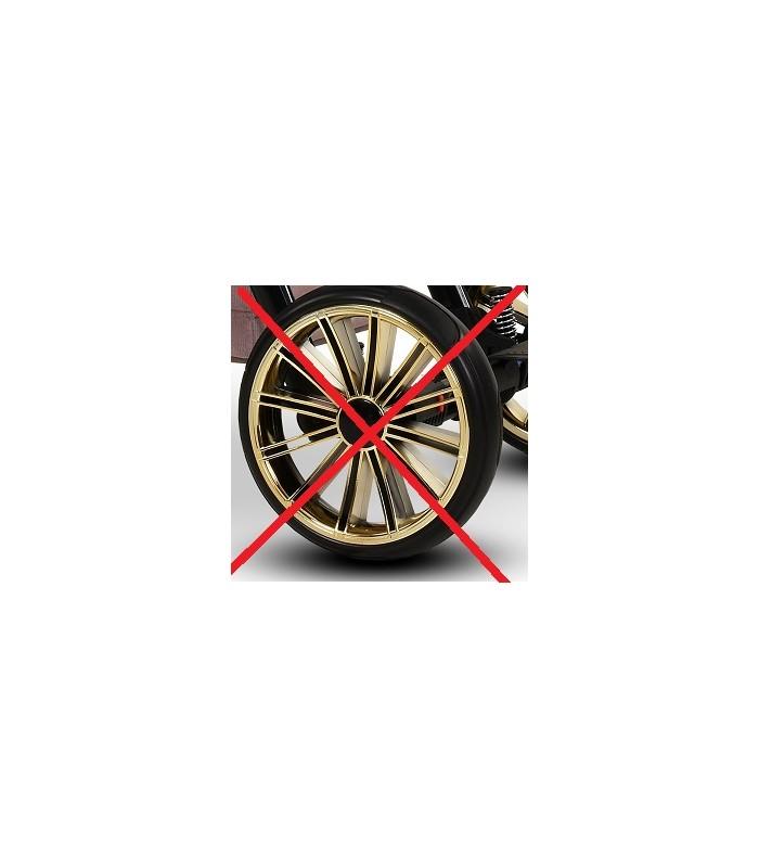 Modo Next Royal Black-Gold Kunstleder + Stoff 2in1 / 3in1 / 4in1 Reisesysteme