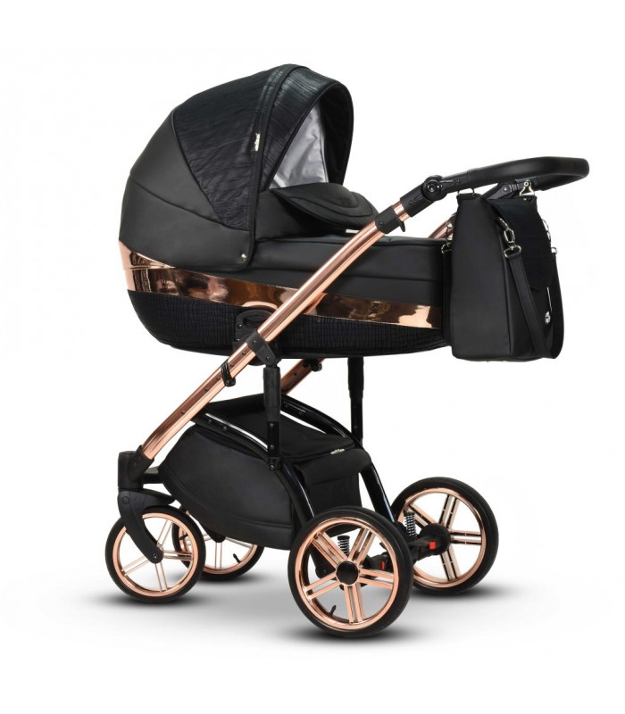 MODO Exclusive Monte Negro Leatherette Travel System 2in1 / 3in1 / 4in1