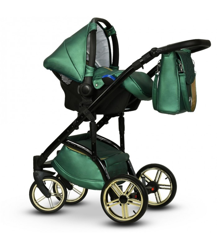 MODO Exclusive Malachit Leatherette Travel System 2in1 / 3in1 / 4in1