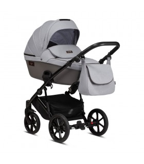 Tutis Viva Life 074 Sleet Eco-Leather Travel System 2in1 / 3in1 / 4in1
