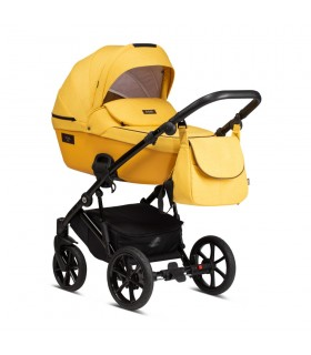 Tutis Viva Life 075 Yolk Yello Eco-Leather Travel System 2in1 / 3in1 / 4in1