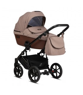 Tutis Viva Life 078  Deep taupe Eco-Leather Travel System 2in1 / 3in1 / 4in1