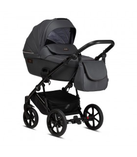Tutis Viva Life ECO 087 Shadow grey Eco-Leather Travel System 2in1 / 3in1 / 4in1