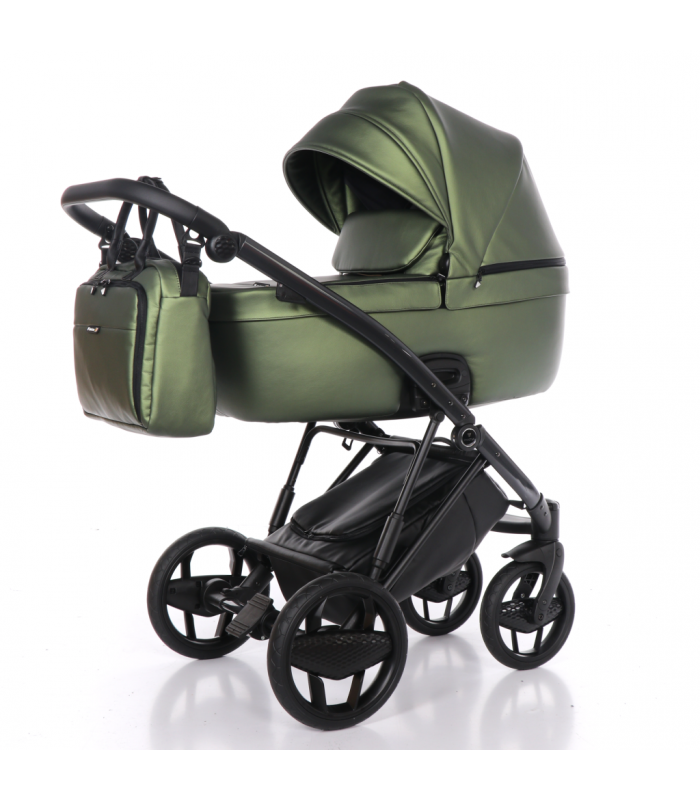 INVICTUS 2.0 with ANTHRACITE CHASSIS Olive 07 Travel System 2in1 / 3in1 / 4in1