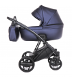 INVICTUS 2.0 with ANTHRACITE CHASSIS Navy Blue 08 Travel System 2in1 / 3in1 / 4in1