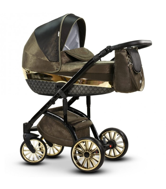 MODO Exclusive Amber Leatherette Travel System 2in1 / 3in1 / 4in1