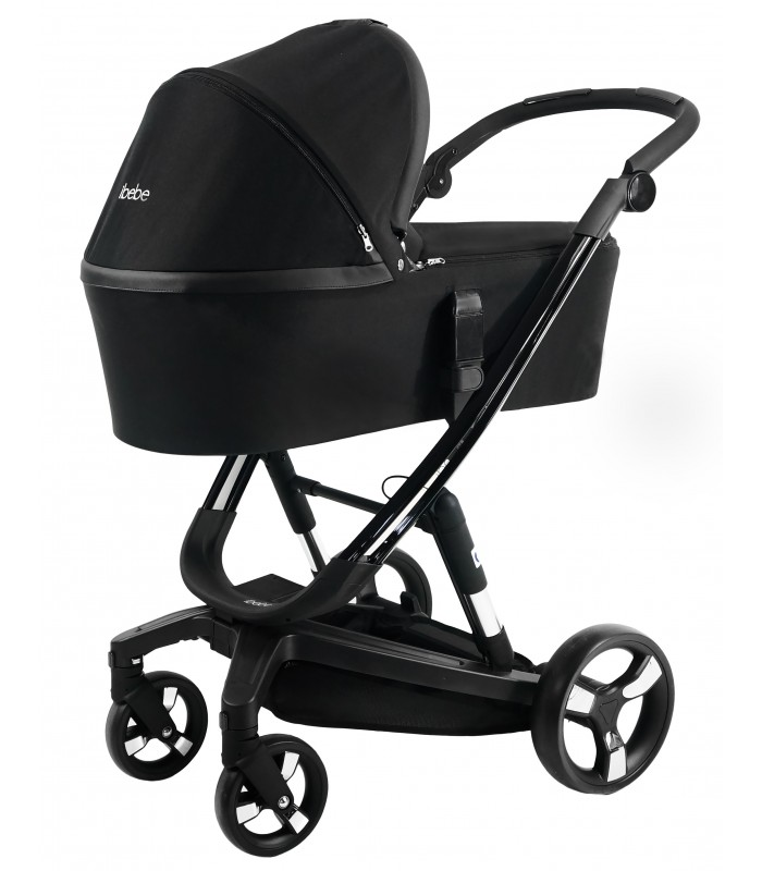 Ibebe ISTOP GLOSS FRAME IS15 BLACK Travel System 2in1 / 3in1 / 4in1