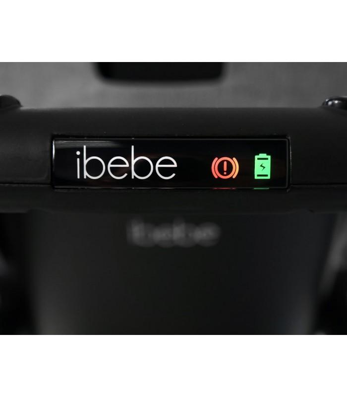 Ibebe ISTOP CHROME FRAME IS7 BLACK Travel System 2in1 / 3in1 / 4in1