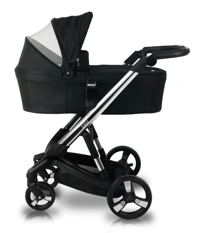 Ibebe ISTOP CHROME FRAME IS7 BLACK Travel System 2in1 / 3in1 / 4in1