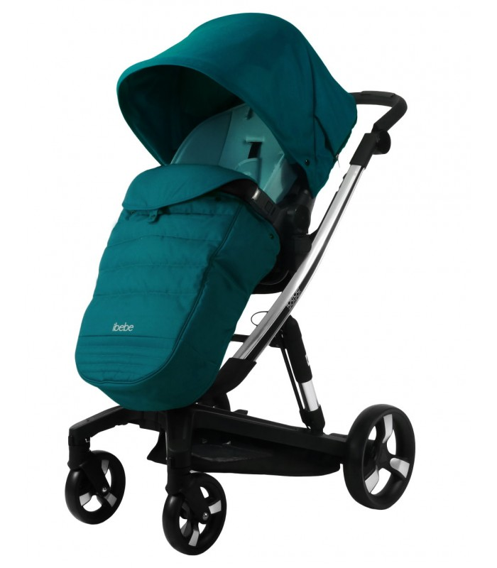 Ibebe ISTOP CHROME FRAME IS8 Limited Edition Travel System 2in1 / 3in1 / 4in1