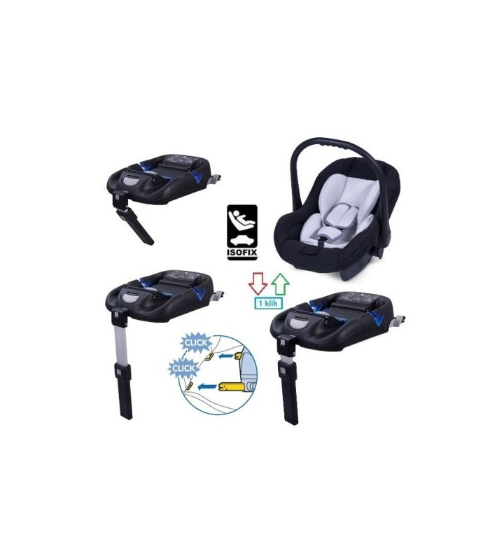 Ibebe ISTOP ECO CHROME FRAME IS18 BEIGE Travel System 2in1 / 3in1 / 4in1