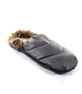 Junama termo Sleeping bag with muffs Grey - Winter Set