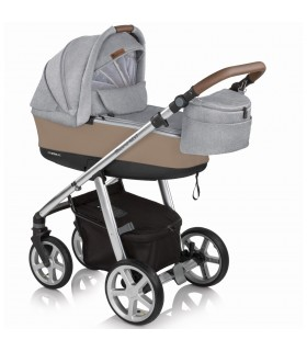 Espiro Next Manhattan Chicago GRAY 207 Travel System 2in1 / 3in1 / 4in1