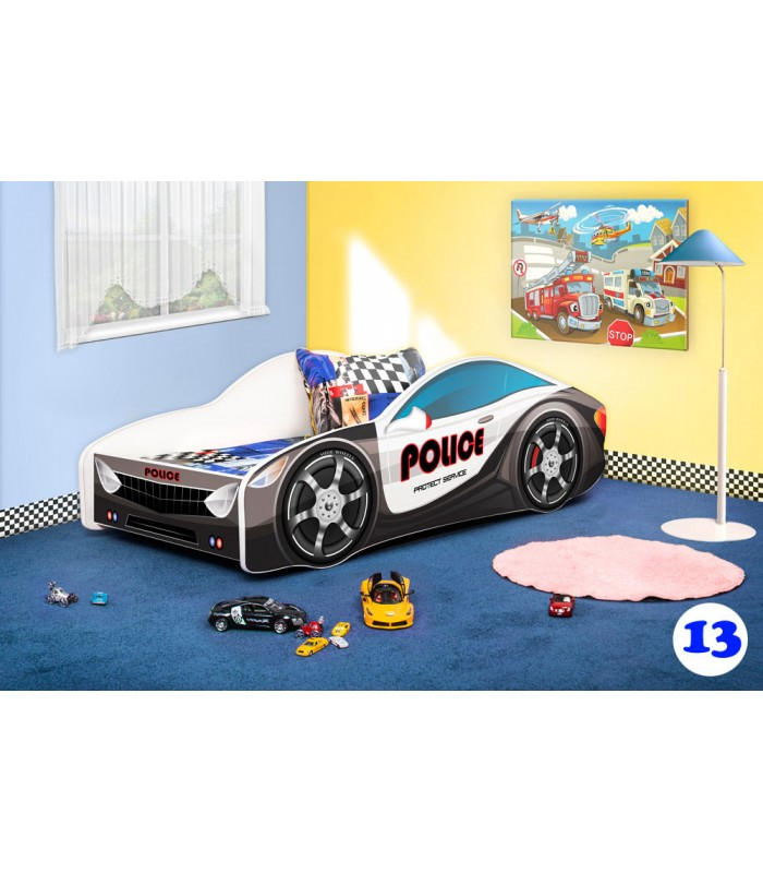 PPG4KIDS Boys Racing Car Bed Type R 13