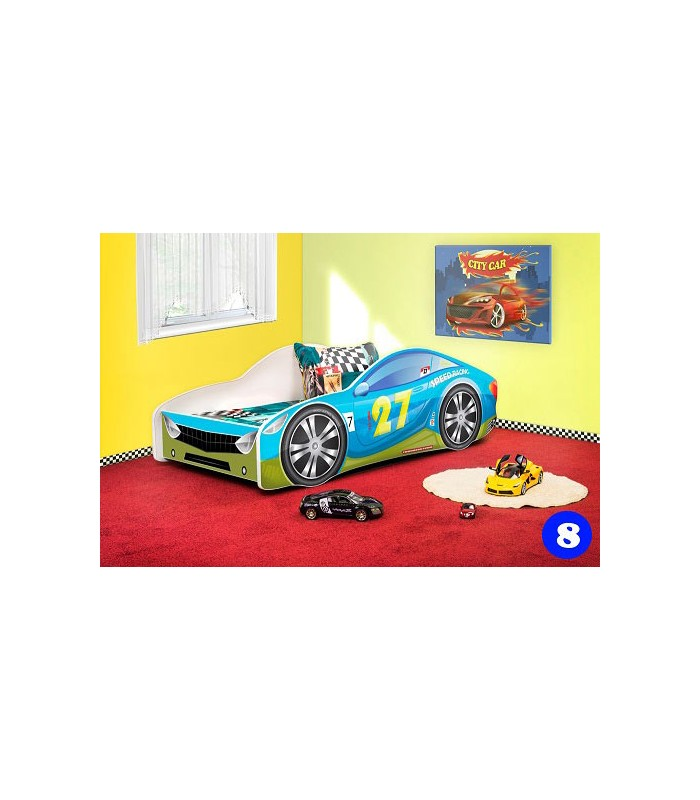 PPG4KIDS Boys Racing Car Bed Type R 8