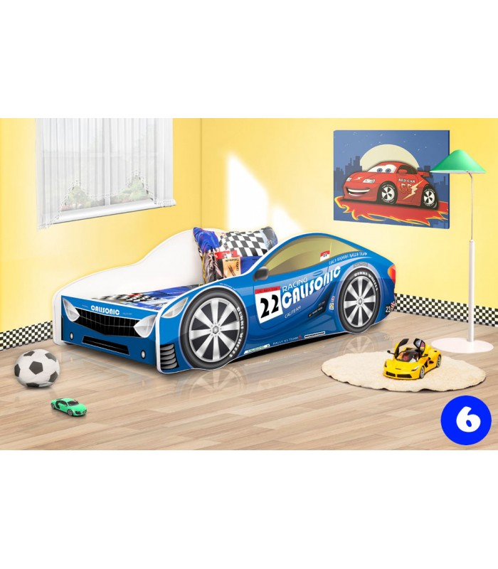 PPG4KIDS Boys Racing Car Bed Type R 6