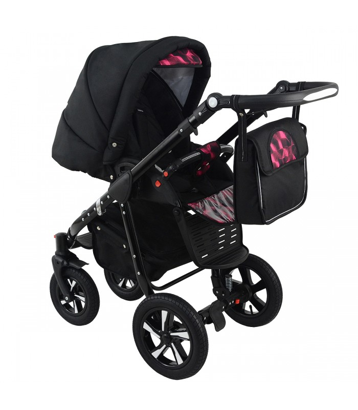 Nexxo Black (Purple) Travel System