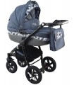 Nexxo Black (Grey) Travel System 2in1 / 3in1 / 4in1