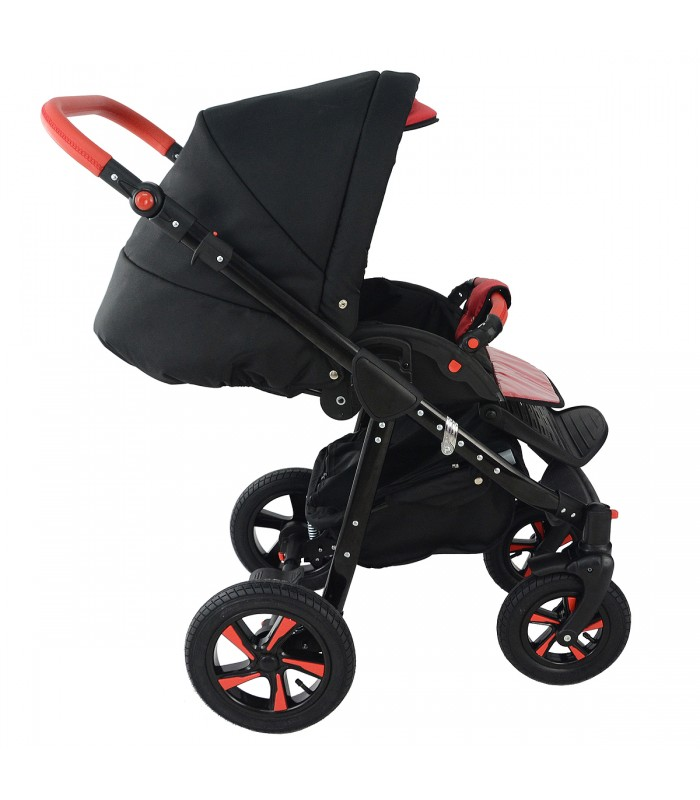Nexxo Black (Grey) Travel System