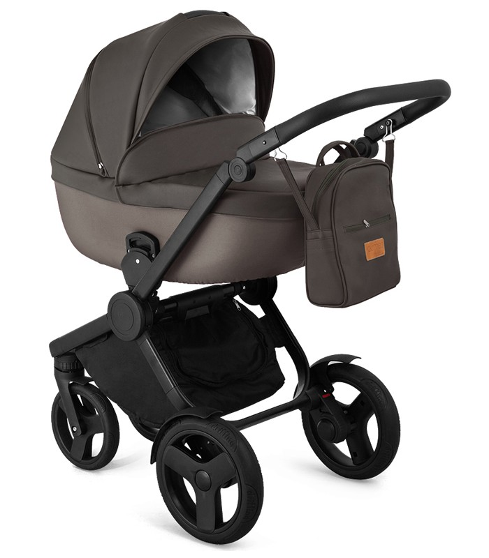 Trolley Qumes Flow 3in1 Eco-Leather Travel System QFL.UMBRA Anthracite