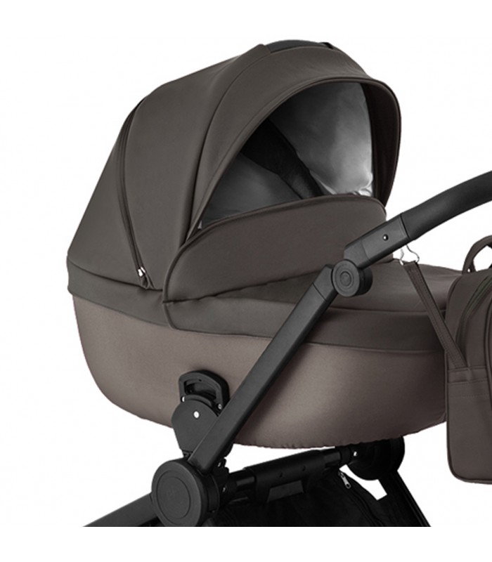 Qumes Flow 3in1 Eco-Leather Travel System QFL.UMBRA Anthracite