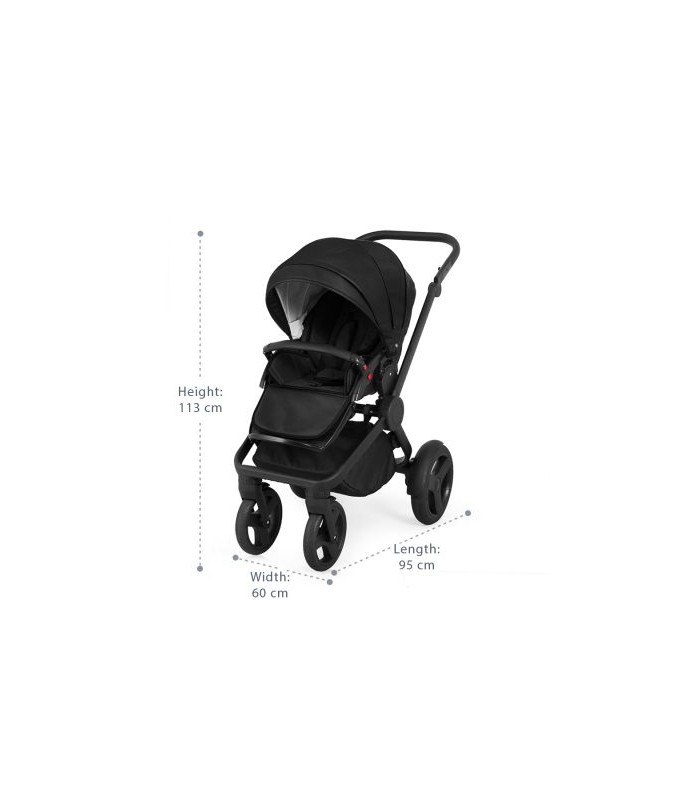 Trolley Qumes Flow 3in1 Eco-Leather Travel System QFL.COBALT Blue
