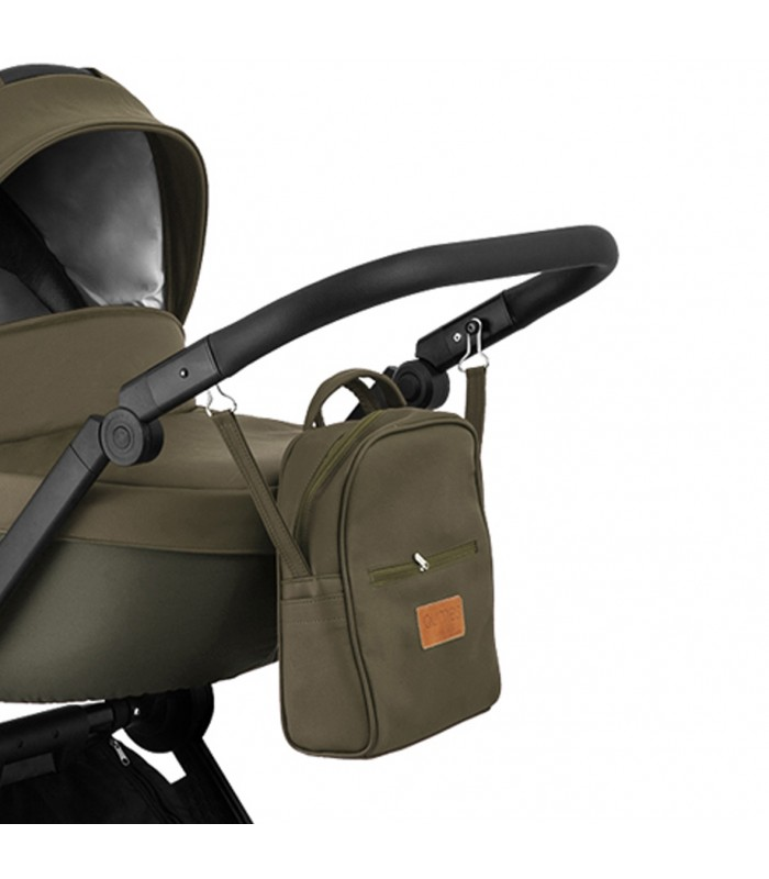 Qumes Flow 3in1 Eco-Leather Travel System QFL.PERLATO Green