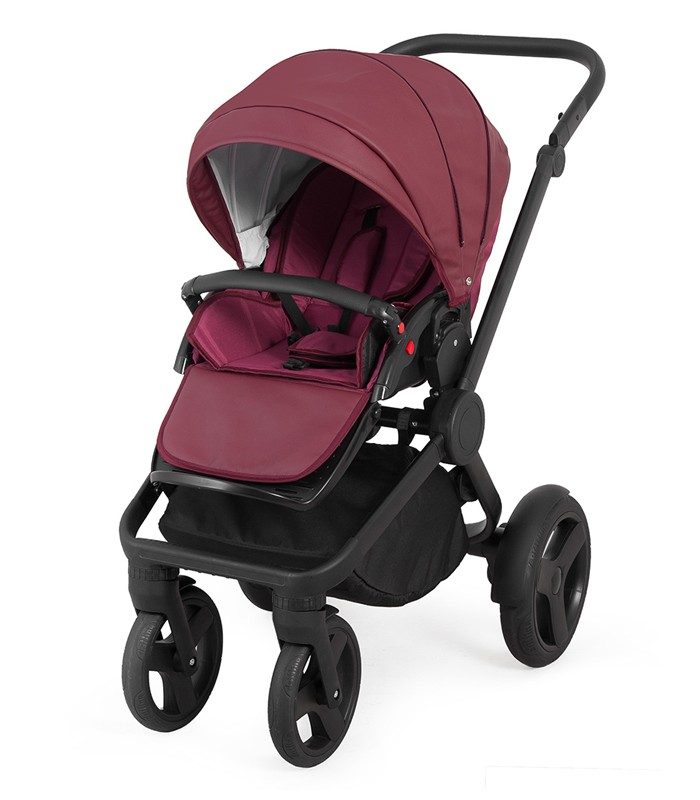 Trolley Qumes Flow 3in1 Eco-Leather Travel System QFL.CLARET Violet