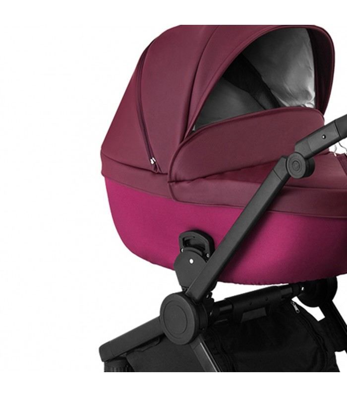 Qumes Flow 3in1 Eco-Leather Travel System QFL.COBALT Violet