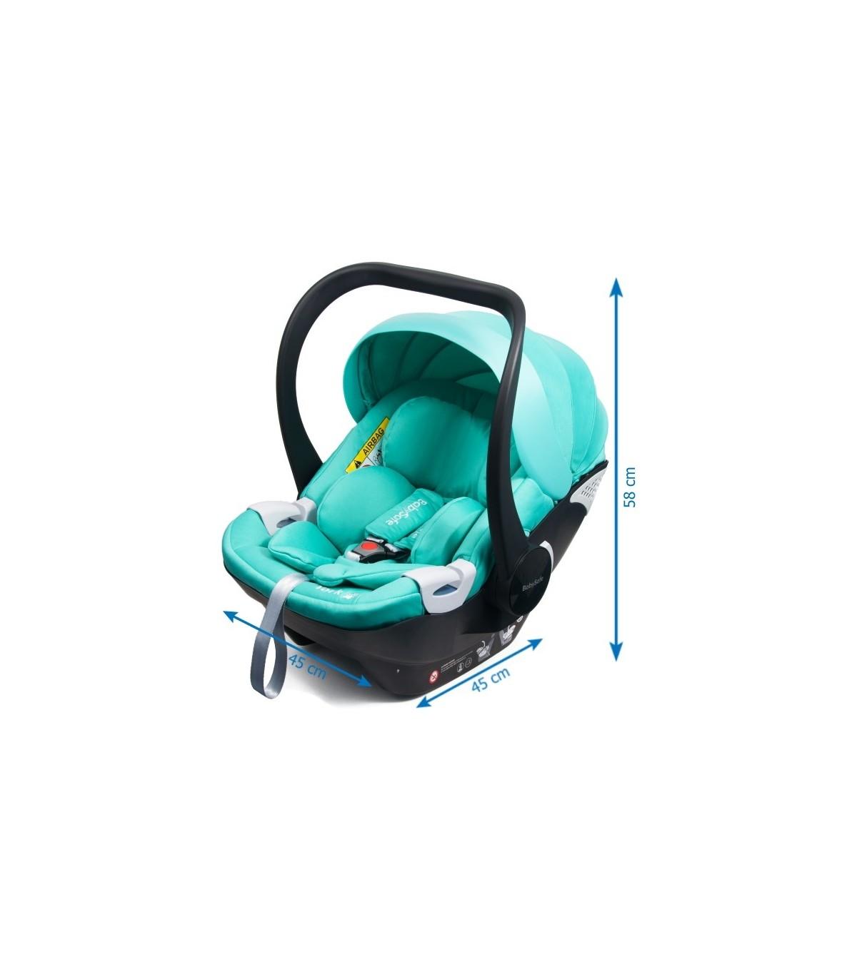 BabySafe York Grey Car Seat With Or Without ISOFIX Base (i