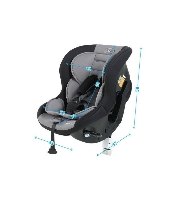 BabySafe Akita Grey Car Seat (0-4 years, 0-18 kg)