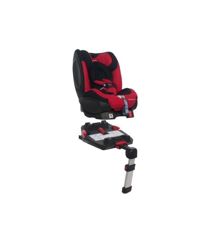 BabySafe Schnauzer Grey Car Seat with ISOFIX Base (0-4 years, 0-18 kg)