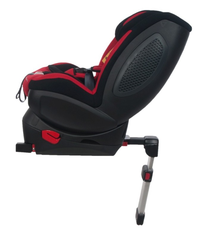 BabySafe Schnauzer Red Car Seat with ISOFIX Base (0-4 years, 0-18 kg)