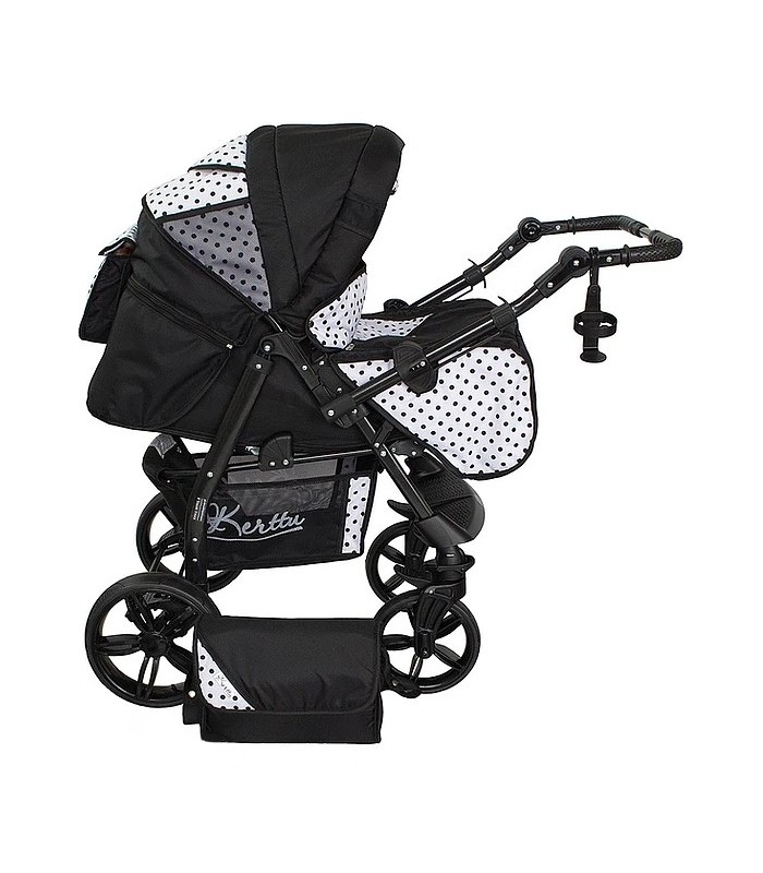 Twist 34 Black-Dots Fabric Travel System 2in1 / 3in1