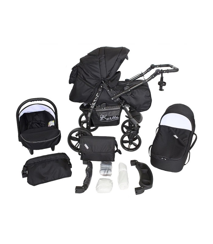 Twist 41 Black Fabric Travel System 2in1 / 3in1