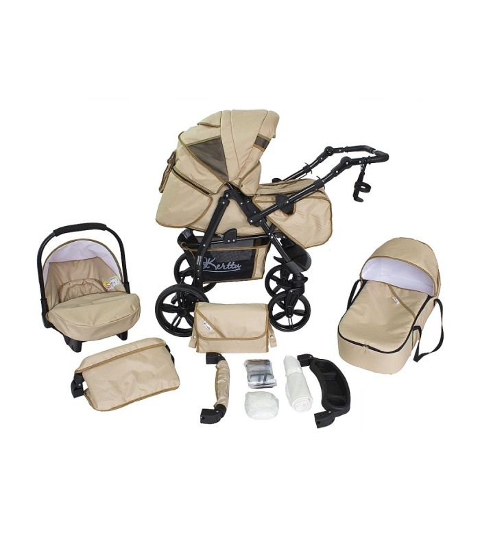 Twist 71 Beige Fabric Travel System 2in1 / 3in1