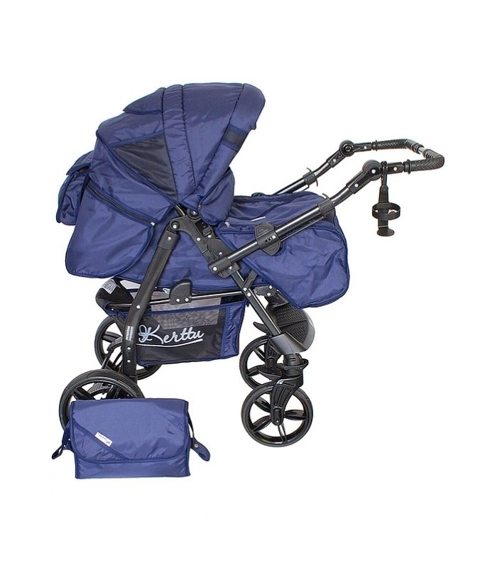 Twist 73 Navy Fabric Travel System 2in1 / 3in1