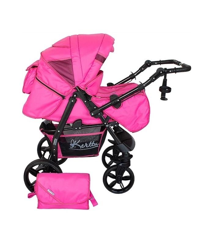 Twist 76 Pink Tissu Systéme de Voyage 2en1 / 3en1